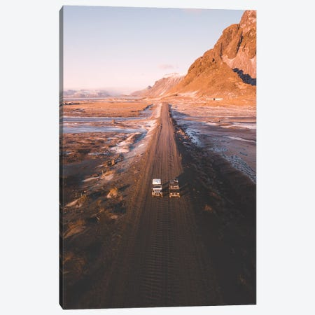 Two For The Road Canvas Print #JSH41} by Joe Shutter Art Print