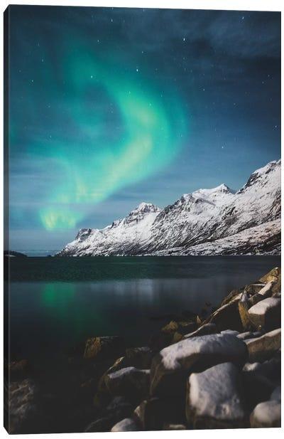 Winter Aurora Canvas Art Print