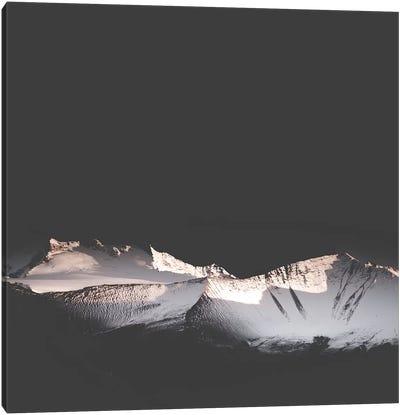 Black Mountains Canvas Art Print