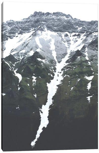 Descending Snow Canvas Art Print