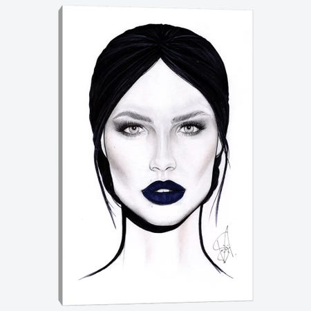 Lips Spell Canvas Print #JSJ17} by Jéssica João Canvas Print
