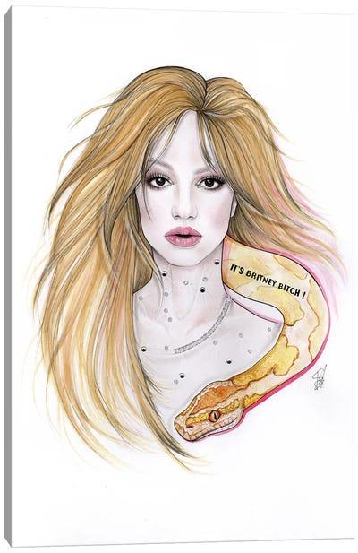 Pink B Canvas Art Print