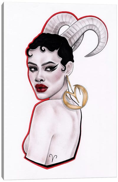 Aries Canvas Art Print