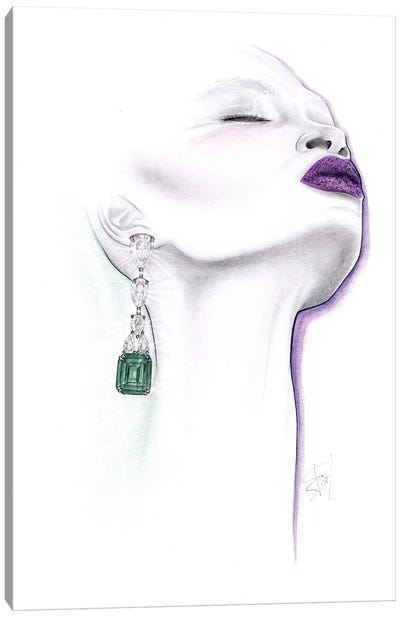 Emerald Canvas Art Print
