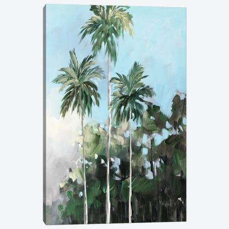 Palms on the Coast Canvas Print #JSL103} by Jane Slivka Canvas Artwork