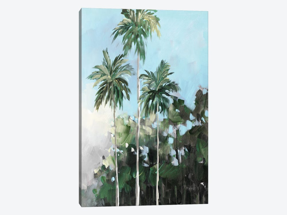 Palms on the Coast by Jane Slivka 1-piece Art Print