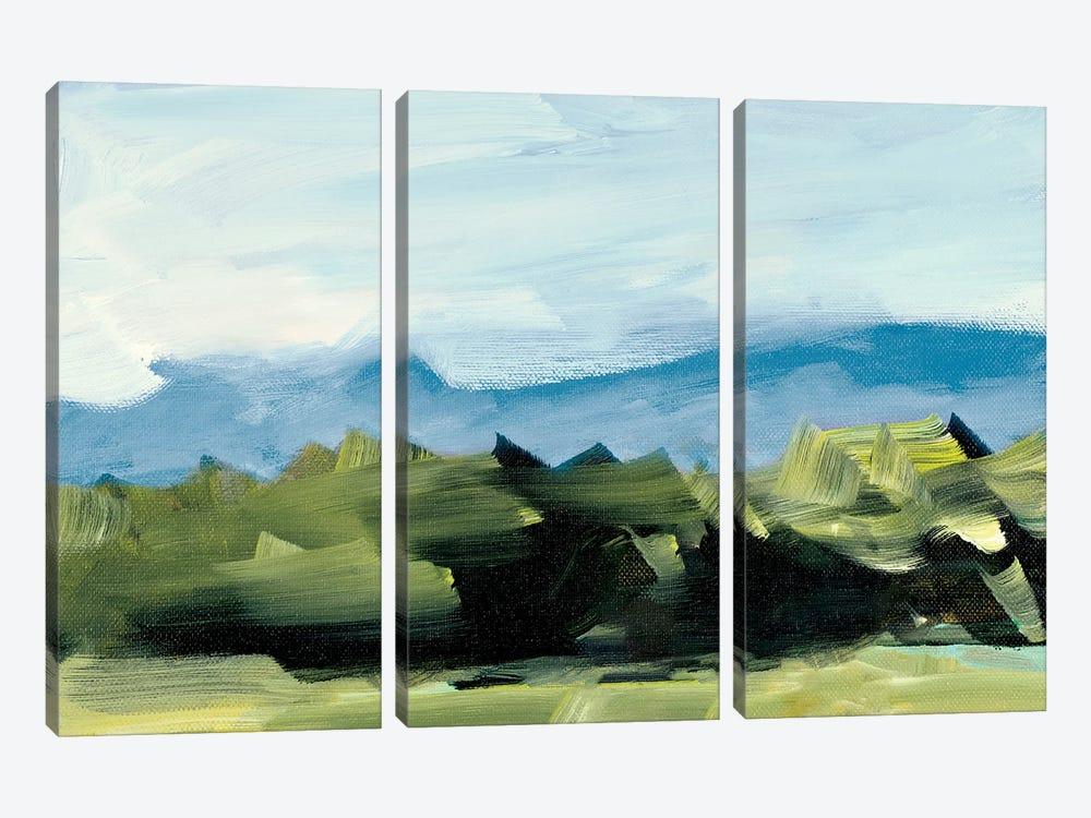 Peaceful Scenery by Jane Slivka 3-piece Art Print