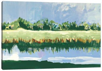 Coastal Landscape View Canvas Art Print