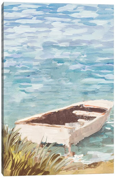 Day On The Inlet Canvas Art Print