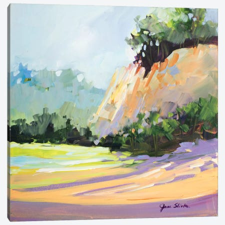 By the Bluffs Canvas Print #JSL11} by Jane Slivka Canvas Artwork