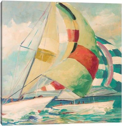 Calm Full Sail I Canvas Art Print