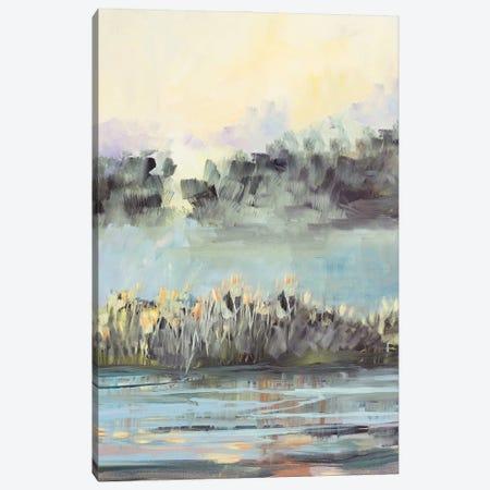 Swamp View Canvas Print #JSL139} by Jane Slivka Art Print