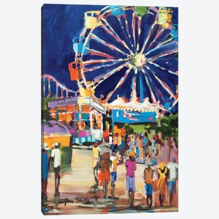 Carnival Canvas Print #JSL17} by Jane Slivka Canvas Art Print