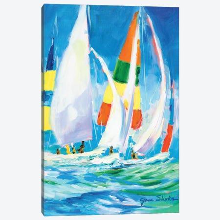 Come Sail Away Canvas Print #JSL19} by Jane Slivka Canvas Art