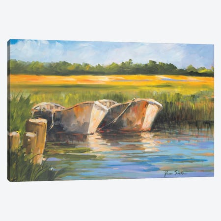 Day on the Lake Canvas Print #JSL20} by Jane Slivka Canvas Print