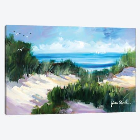 Dune Shoreside Canvas Print #JSL21} by Jane Slivka Canvas Print
