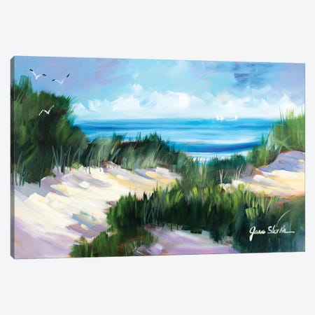 Dune Shoreside Canvas Print #JSL21} by Jane Slivka Canvas Print