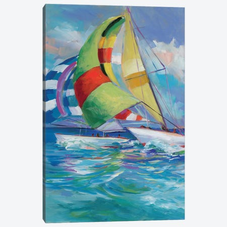 Full Sail I Canvas Print #JSL26} by Jane Slivka Canvas Artwork