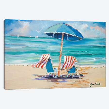 Honeymooners Delight Canvas Print #JSL30} by Jane Slivka Canvas Art