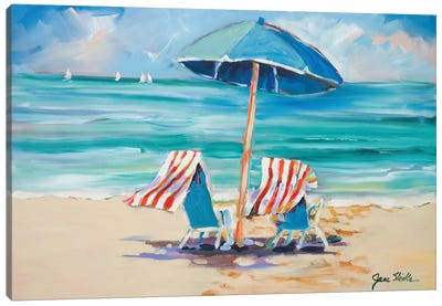 Honeymooners Delight Canvas Art Print