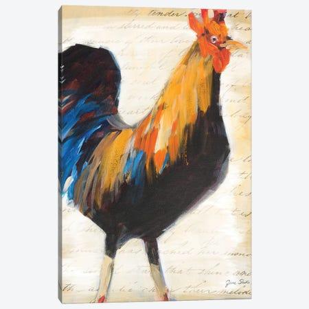 Morning Glory I Canvas Print #JSL38} by Jane Slivka Canvas Wall Art