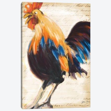 Morning Glory II Canvas Print #JSL39} by Jane Slivka Canvas Artwork