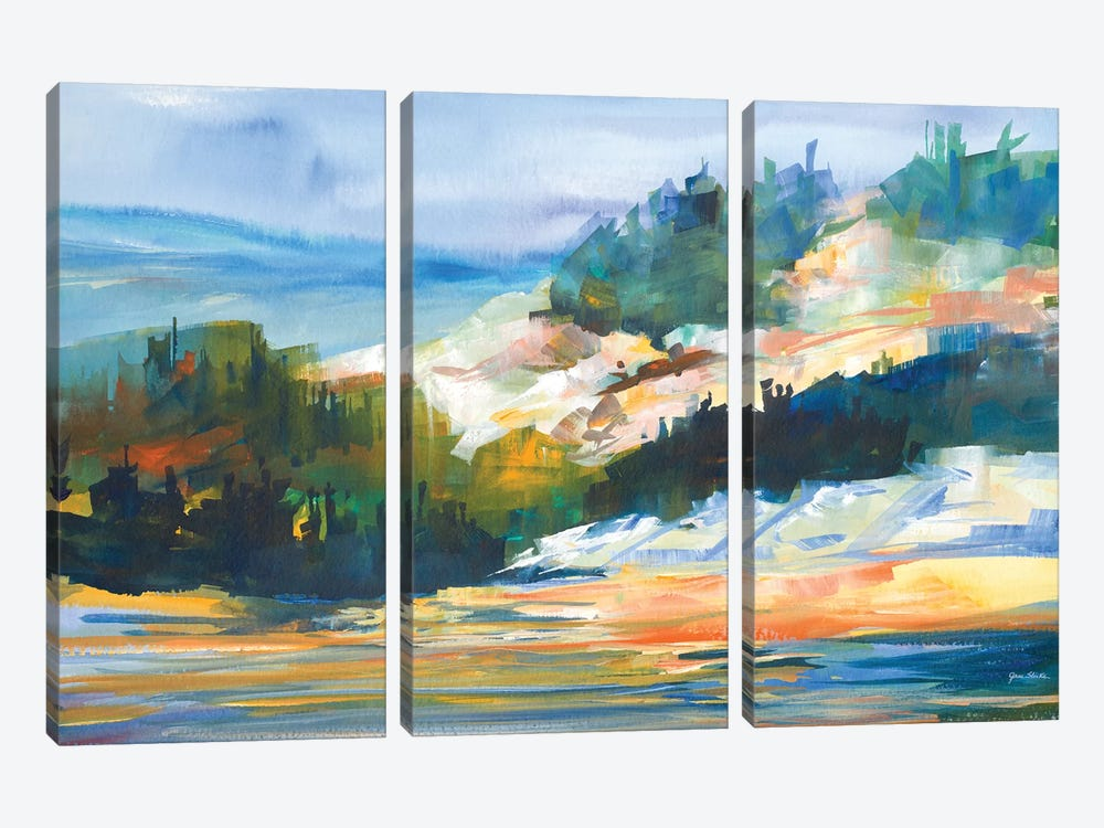 Morning Light by Jane Slivka 3-piece Art Print