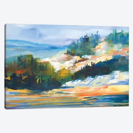 Morning Light Canvas Print #JSL40} by Jane Slivka Canvas Print