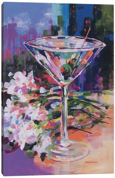 N.Y. Martini Canvas Art Print