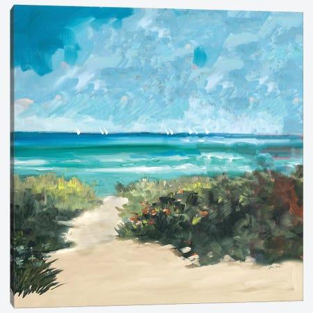 Oceanside I 3-Piece Canvas #JSL44} by Jane Slivka Canvas Art