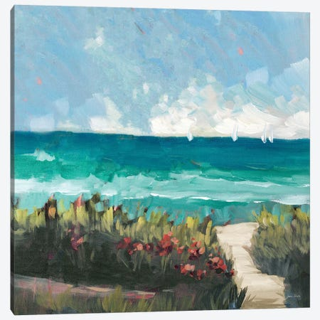 Oceanside II Canvas Print #JSL45} by Jane Slivka Canvas Wall Art