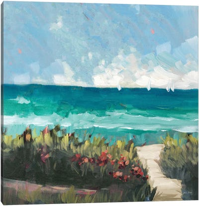 Oceanside II Canvas Art Print