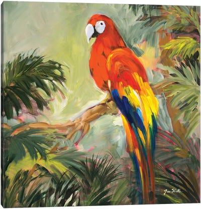 Parrots at Bay I Canvas Art Print