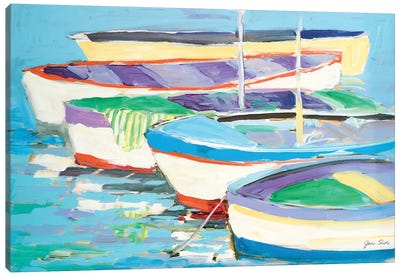 Row Your Boats Canvas Art Print