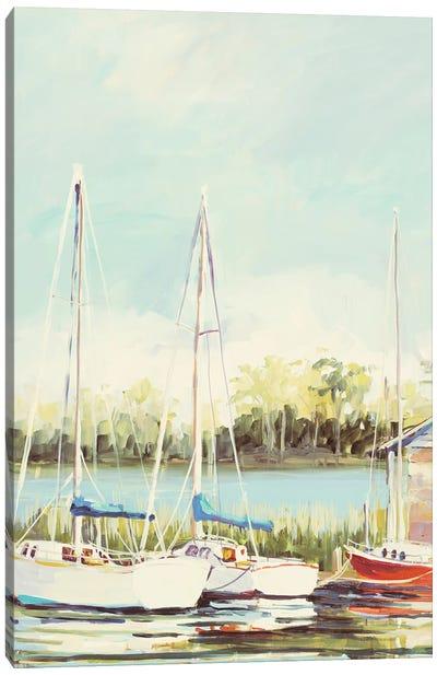 Sail Harbor Canvas Art Print