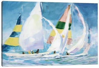 Sailing Away I Canvas Art Print