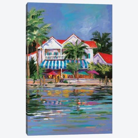 Beach Resort I Canvas Print #JSL6} by Jane Slivka Art Print