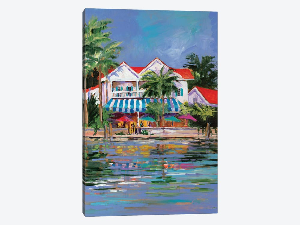 Beach Resort I by Jane Slivka 1-piece Canvas Print