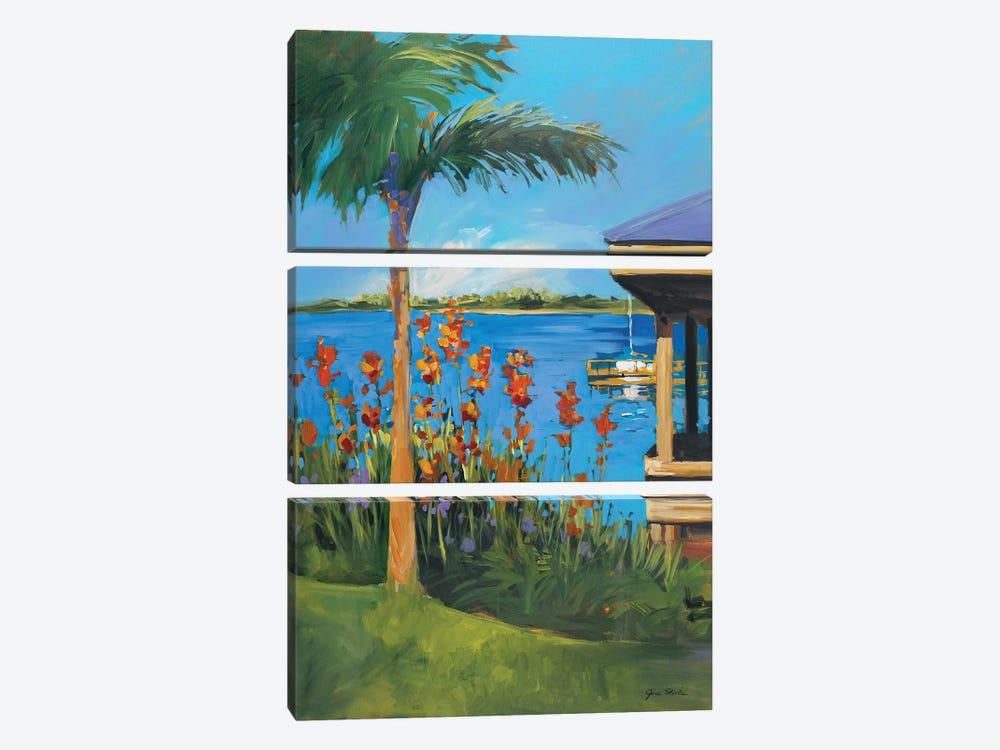 The Lake by Jane Slivka 3-piece Canvas Print