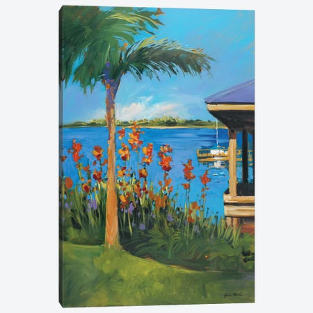 The Lake Canvas Print #JSL73} by Jane Slivka Canvas Art