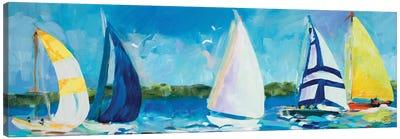 The Regatta I Canvas Art Print