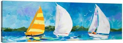 The Regatta II Canvas Art Print
