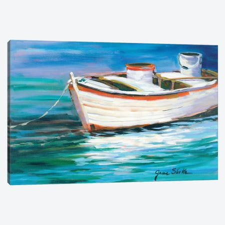 The Row Boat that Could Canvas Print #JSL76} by Jane Slivka Canvas Art Print