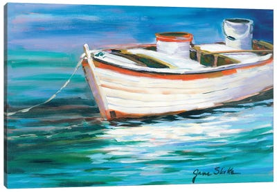 The Row Boat that Could Canvas Art Print