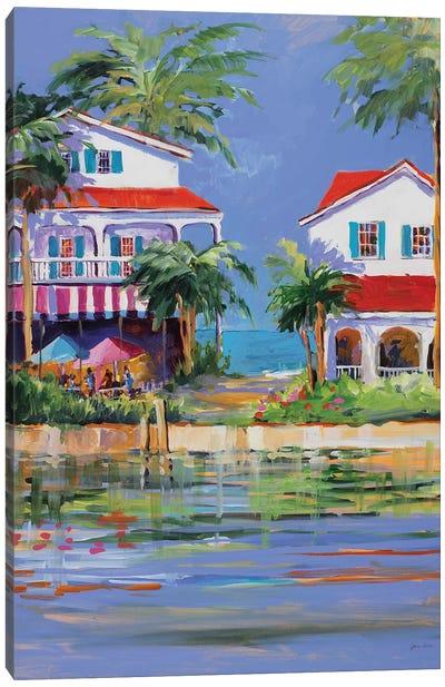 Beach Resort II Canvas Art Print
