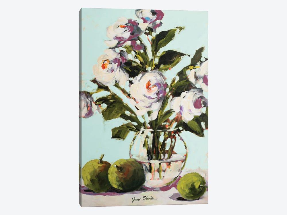 White Rose by Jane Slivka 1-piece Canvas Art Print