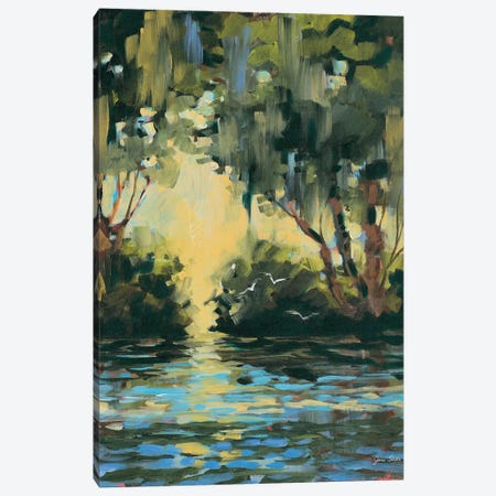 Deep in the Forest Canvas Print #JSL85} by Jane Slivka Canvas Artwork