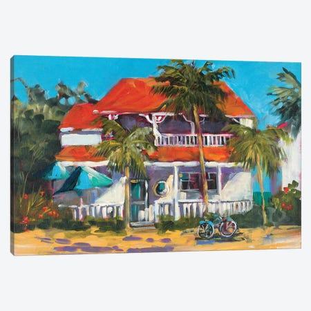 Oceanview Home Canvas Print #JSL86} by Jane Slivka Canvas Art