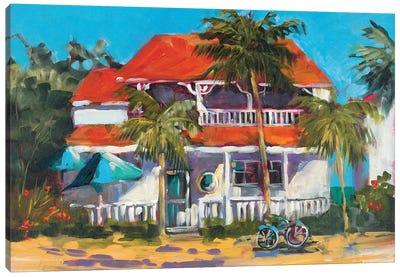 Oceanview Home Canvas Art Print