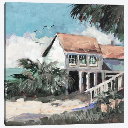 Quiet Getaway Canvas Print #JSL87} by Jane Slivka Canvas Artwork